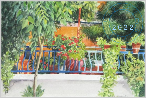 Balcony, Skopelos