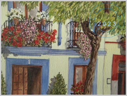 A house in Cordoba, Spain