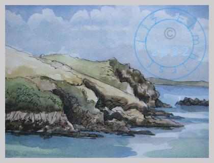 The cliffs at Solva, Pembrokeshire