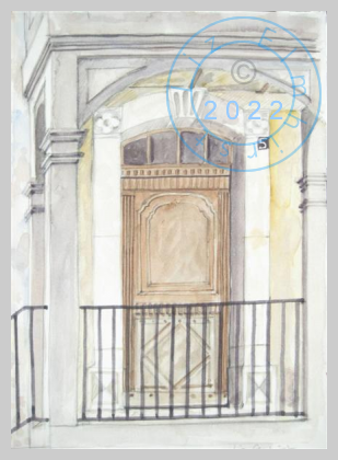 French doorway