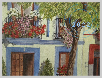 A house in Cordoba, Spain