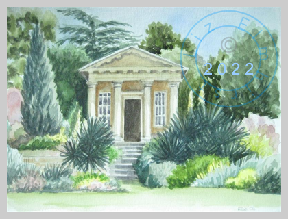 King William's Temple at Kew Gardens