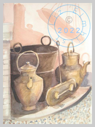 Old brassware