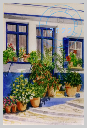 Potted plants, Greece