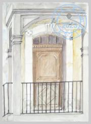 French doorway